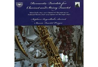 Siegenthaler, Stamic Quartet Prague, Siegenthaler/Stamic Quartet Prague - Romantic Quintets For Clarinet - (CD)