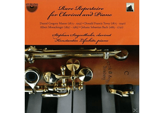 Siegenthaler/Lifschitz, Konstantin Siegenthalerstephan/lifschitz - Rare Repertoire for Clarinet and Piano - (CD)
