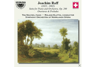 Nguyen & Symphony Orcestra Of Norrlands Opera, Joseph Joachim Raff - Raff Suite For Piano+Orchestra - (CD)