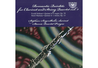 Stephan / Stamie Quartet Prague Siegenthaler - Romantic Quintets for Clarinet and String - (CD)