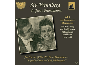 Jan Eyron Siv Wennberg - A Great Primadonna-Vol.1 Liederkonzert - (CD)