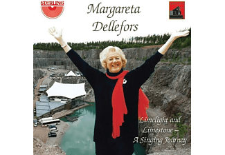 Margareta Dellefors (sopr) - Limelight and Limestone-A singing Journey - (CD)