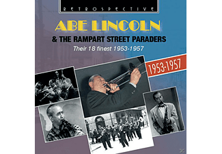 Abe  Lincoln, The Rampart Street - Their 18 Finest 1953-1957 - (CD)