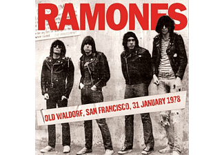 Ramones - Old Waldorf, San Francisco, 31st January 1978 - (Vinyl)