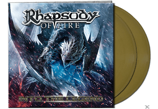 Rhapsody Of Fire Into The Legend - Gold Βινύλιο