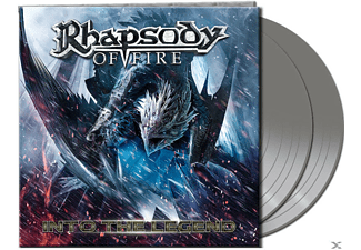 Rhapsody Of Fire Into The Legend - Silver Βινύλιο