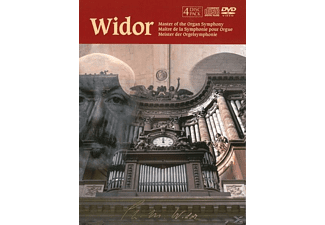 Charles-Marie Jean Albert Widor - Master Of The Organ Symphony - (DVD + CD)