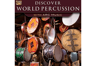 VARIOUS - Discover World Percussion-With Arc Music [CD]