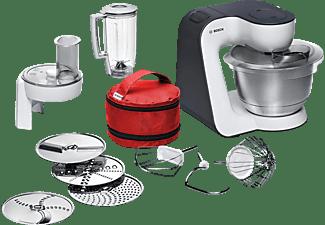 BOSCH MUM 50 E 32 DE, Küchenmaschine, Rührschüssel-Kapazität: 2 Liter, 800 Watt, Weiß