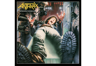 Anthrax Spreading The Disease  (Dlx Edt) CD