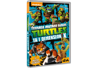 Teenage Mutant Ninja Turtles - In i Dimension X! Barn DVD