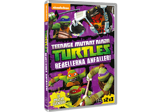 Teenage Mutant Ninja Turtles - Rebellerna Anfaller! Barn DVD