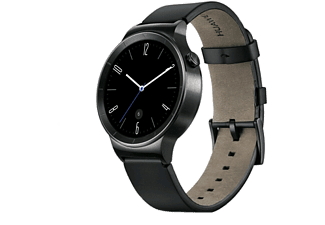 HUAWEI WATCH Svart Läderband