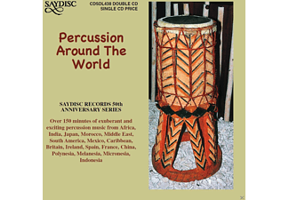 VARIOUS - Percussion Around The World [CD]