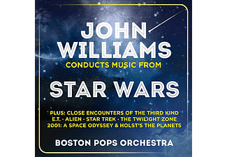 Boston Pops Orchestra, John Williams - John Williams Conducts Music from Star Wars (CD)