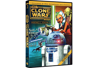 Star Wars: Clone Wars Season 1 Volym 2 Barn DVD