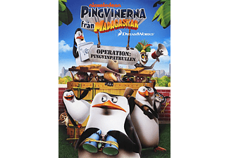 Pingvinerna Från Madagaskar: Operation: Pingvinpatrullen Animation / Tecknat DVD