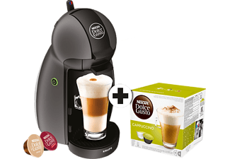 krups kp100b dolce gusto piccolo anthrazit 1x 8 st ck cappuccino kapseln dolce gusto maschinen. Black Bedroom Furniture Sets. Home Design Ideas