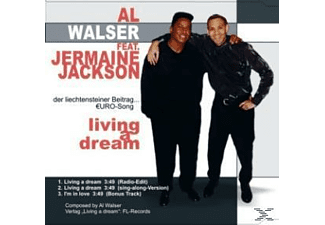 Walser Al - Living A Dream - (5 Zoll Single CD (2-Track))
