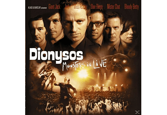 Dionysos - Monsters In Live(Cd) [CD]