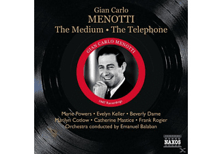 VARIOUS, Balaban/Keller/Powers/Cotlow/Rogier - The Medium/The Telephone - (CD)