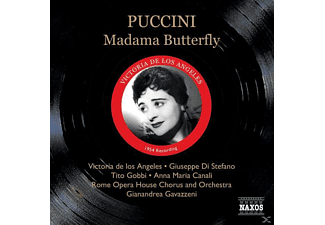 Victoria De Los Angeles, Gavazzeni/De Los Angeles/Di Stefano - Madame Butterfly - (CD)