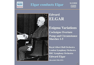 Sir Edward William Elgar - Elgar Dirigiert Elgar - (CD)