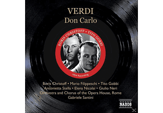 Filippeschi, Santini/Christoff/Filippeschi/ - Don Carlos - (CD)