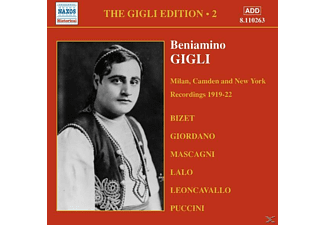 Beniamino Gigli - Milan,Camden And New York - (CD)