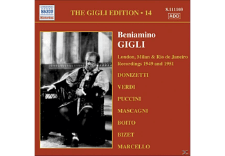 Beniamino Gigli - Milan And London 1949-1951 - (CD)