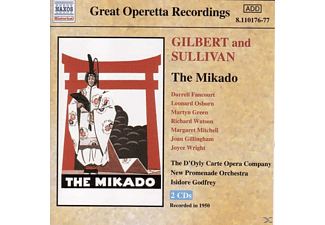 VARIOUS, Osborn, Godfrey, Fancourt, Godfrey/Fancourt/Osborn/+ - The Mikado - (CD)