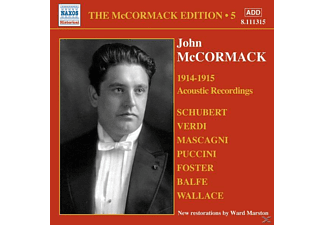 John Mccormack - Acoustic Recordings 1914-15 - (CD)