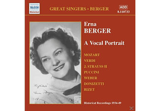 Berger Erna - A Vocal Portrait - (CD)