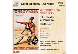 D'oyly Carte Opera Company - Piraten Von Penzance/Trial By - (CD)