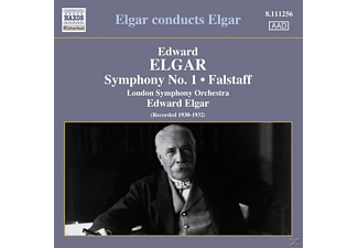 Sir Edward William Elgar, Edward/lso Elgar - Sinfonie 1/Falstaff - (CD)