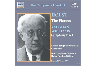 Gustav Theodore Holst, Ralph Vaughan Williams, London Symphony Orchestr, Holst/Vaughan-Williams - Die Planeten/Sinfonie 4 - (CD)