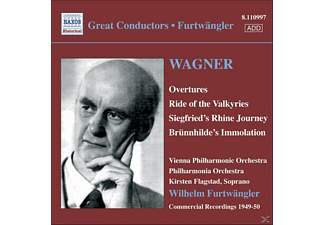 Flagstad, Furtwängler/Wpo/PO - Ouvertüren - (CD)