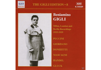 Beniamino Gigli - Milan,London,Berlin (Vol.8) - (CD)