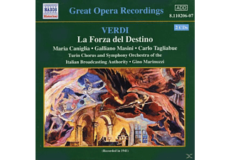 Maria Caniglia, Galliano Masini, Carlo Tagliabue, Turin Chorus und Symphony Orchestra of the Italian Broadcasting Authority - Die Macht Des Schicksals - (CD)
