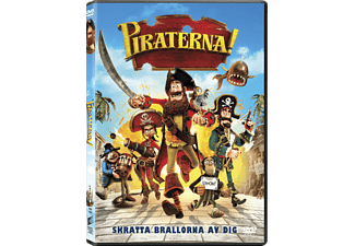 Piraterna! Animation / Tecknat DVD