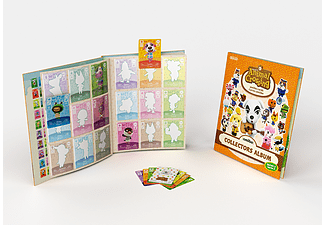 NINTENDO Animal Crossing Collectors Album Serie 2 + 3 Amiibo Cards