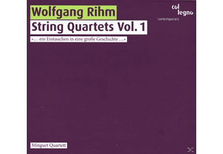 Minguet- Quartett - String Quartets Vol.1 (Nos.1-4) - (CD)