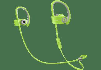 BEATS Powerbeats 2 wireless Sport, In-ear Kopfhörer, Bluetooth, spritzwassergeschützt, Grün