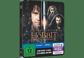 Der Hobbit - Die Schlacht der fünf Heere (Extended Steelbook) - (Blu-ray)
