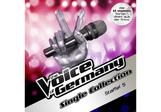 The Voice Of Germany - Die Single Collection-Staffel 5 - (CD)