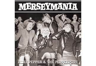 Billy Pepper, The Pepperpots - Merseymania [CD]