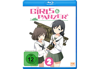 Girls und Panzer: Vol. 2 (Ep. 5-8) [Blu-ray]