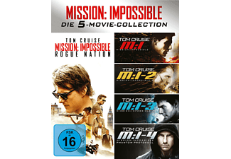 Mission Impossible 1-5 Box - (Blu-ray)