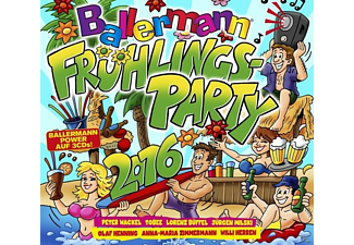 Various - Ballermann Frühlingsparty 2016 - (CD)
