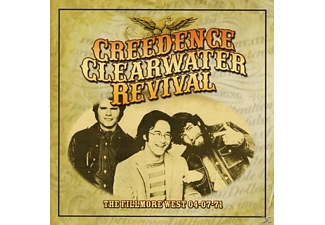 Creedence Clearwater Revival - The Fillmore West 04-07-71 [CD]